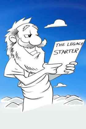 legacy starter